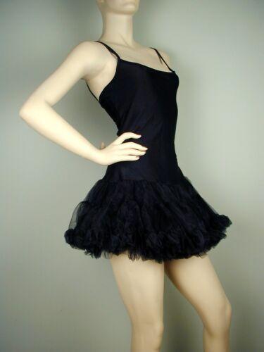 Puffy PETTICOAT DRESS Black Size S//M