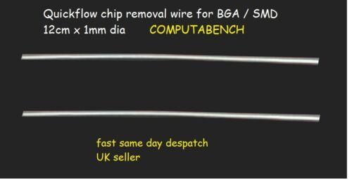 LOW MELTING POINT SOLDERING AID REMOVE BGA ICS EASILY 1X CHIPFLOW SOLDER STICK