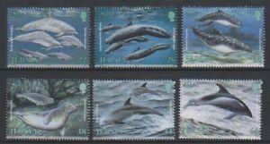 Jersey-2000-Marine-Mammiferes-Ensemble-MNH-Sg-947-52