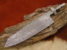 Damast Klinge.Küchen Messer, Damascus Blank NEUE Maserung.