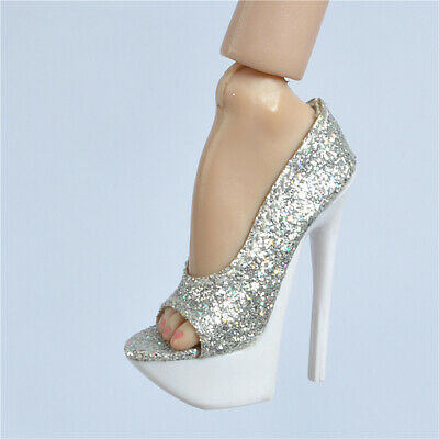 Open Toe Pump//Shoes for Fashion Royalty FR FR2 /& Tiny Kitty Dolls