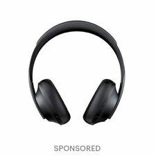 Bose Noise Cancelling Headphones 700 - Triple Black