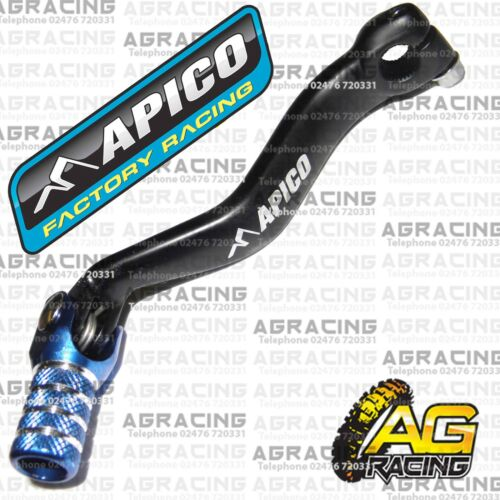 Apico Black Blue Gear Pedal Lever Shifter For Yamaha YZ 125 1999 Motocross New
