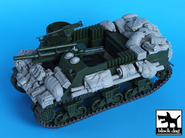 T35056 Stuart VI Tank Accessories Set Black Dog 1//35 M5A1 for Tamiya kit