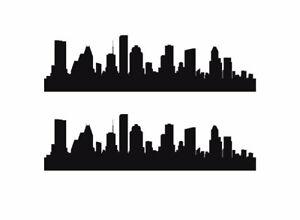 HIGH QUALITY Denver Vinyl Silhouette Wall Sticker Colorado City Skyline Decal many sizes available