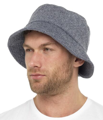 Tom Franks Mens Towelling Bucket Hat
