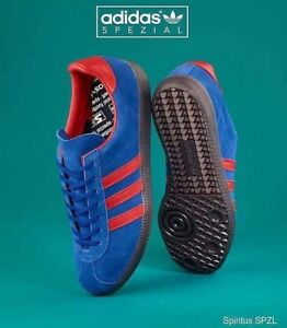 new york f3f84 ae669 Image is loading Adidas-Originals-x-Spezial-Spiritus-Navy-CG2922-All-