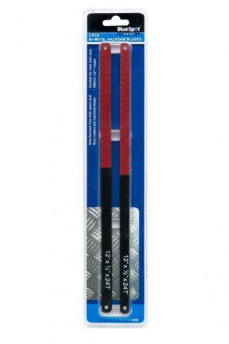 Packung zu 2 Bi-Metall Eisensäge blätter 30.5cm//300mm