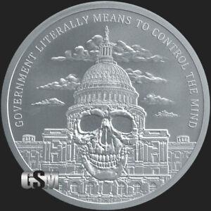 2019-2-oz-Government-Mind-Control-MiniMintage-BU-Silver-Round-999-Fine-IN-STOCK