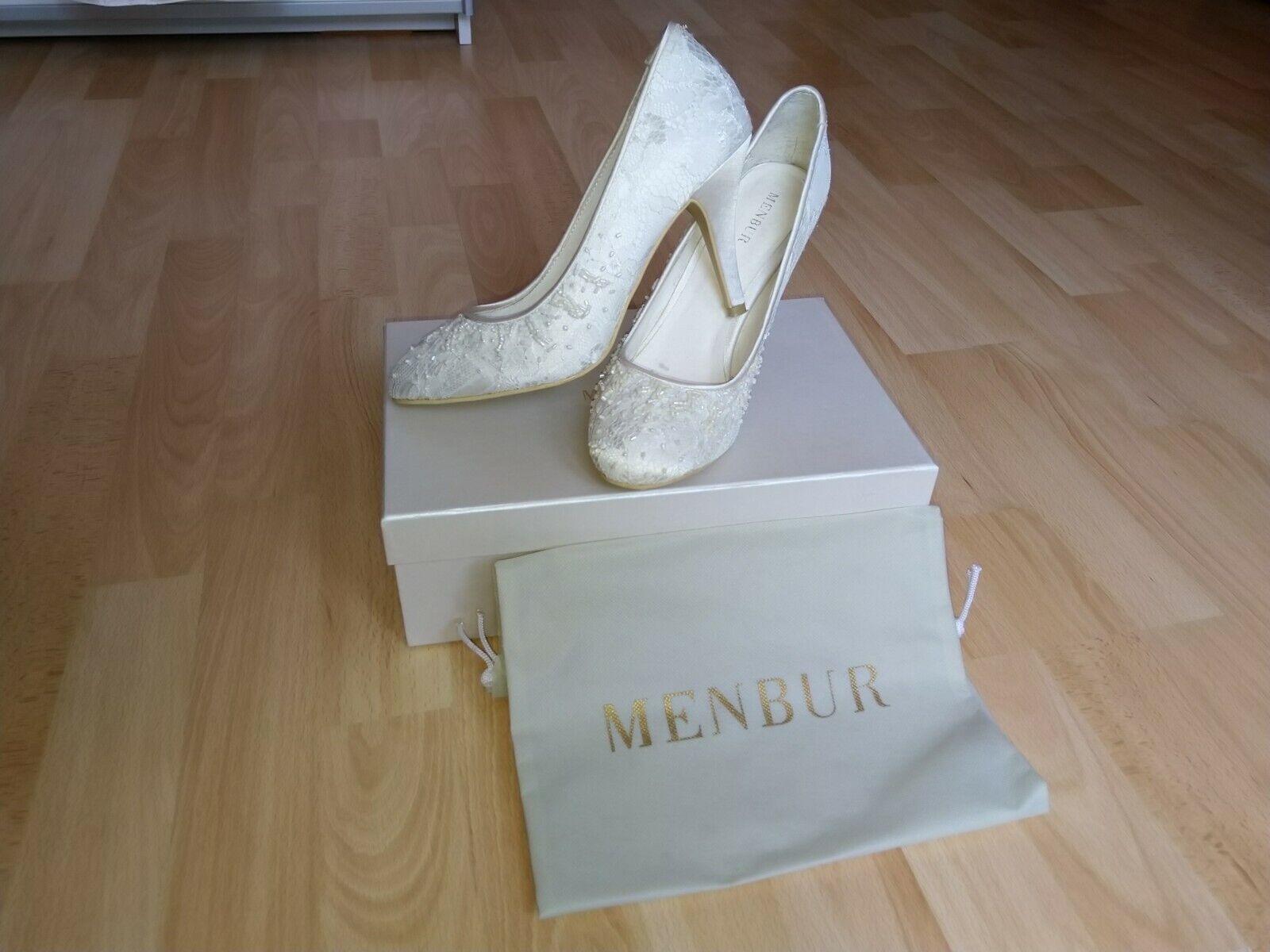 Wedding pumps Size 38, Colour: efenbein Menbur
