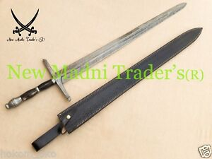 Medieval Damascus Knights Arming Dagger