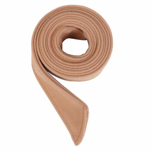 Women Girls Woolen Waist Belt Jacket Belt Solid Color Wide Waist Band for New