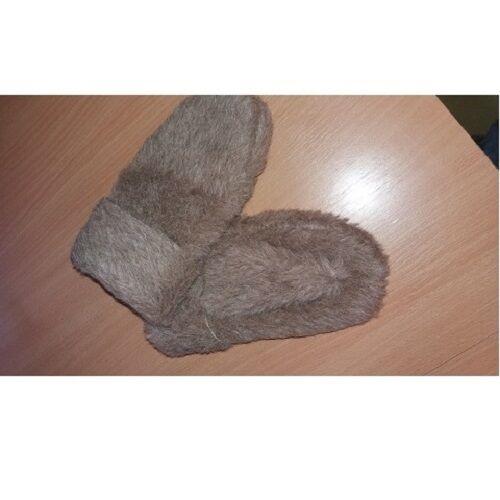 Warme Handschuhe aus Alpakaflor in verschiedenen Größen