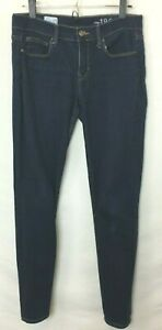 Gap-Legging-Jean-Women-039-s-Dark-Wash-Jeggings-5-Pocket-Measures-as-Size-31-EUC