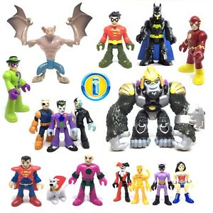 Lot 2 pcs Imaginext DC Super Friends DC COMICS FIRESTORM SERIES 3 figures SDUK
