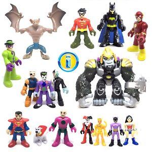 IMAGINEXT-DC-Super-Friends-Heroes-amp-Villains-Used-Figures-Loose-Please-Select