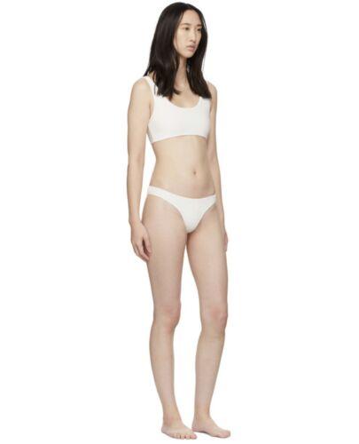 Authentic Myraswim White Diego Bikini Top& Cindy B