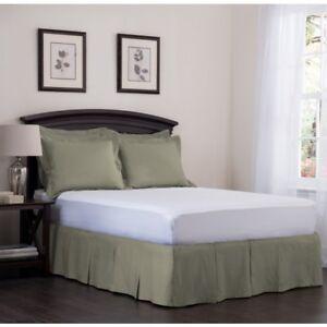 Ashton Detachable Pleated Bedskirt Ebay