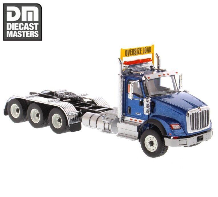 1 50 71010 International HX620 Bleu Remorque  Tracteur Diecast Masters remorque Head  première réponse