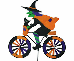 Premier-Designs-32-inch-Witch-Bicycle-Yard-Garden-Spinner-PD25998