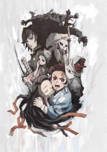 "Kimetsu no Yaiba Fight Japan Anime 14/""x19/"" Poster 060 Demon Slayer"