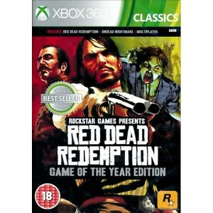 Red Dead Redemption Game Of The Year Edition GOTY Xbox 360 Classics - UK, United Kingdom - Our full returns policy can be found in our listing description. Most purchases from business sellers are protected by the Consumer Contract Regulations 2013 which give you the right to cancel the purchase within 14 days after the day - UK, United Kingdom