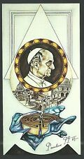 Estampa del Papa Pablo VI andachtsbild santino holy card santini