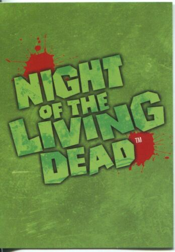 Night Of The Living Dead Promo Card   1 green; Coming Soon