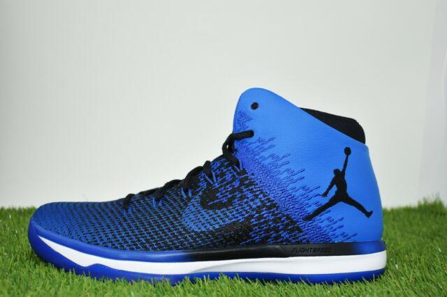 huge selection of 1ae0d 18545 Nike Air Jordan 31 XXXI Multi Size Basketball Shoes Black Royal Blue  845037-007