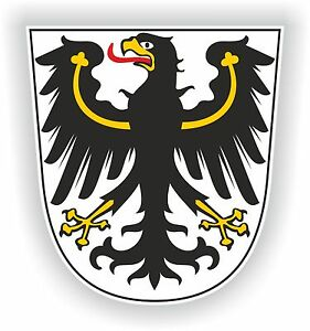 East-Prussia-Ostpreusen-Sticker-Coat-of-Arms-Teutonic-Knights-Crest-Bumper-Car