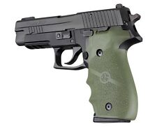 Hogue SIG SAUER P226 Rubber Finger Groove Grip OD Green 26001