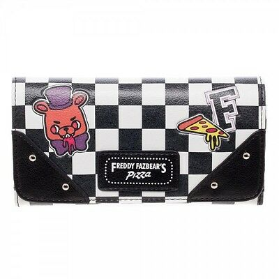 Bioworld Five Nights At Freddy's Game Juniors Checkered Flap Wallet GW4HF5FNF