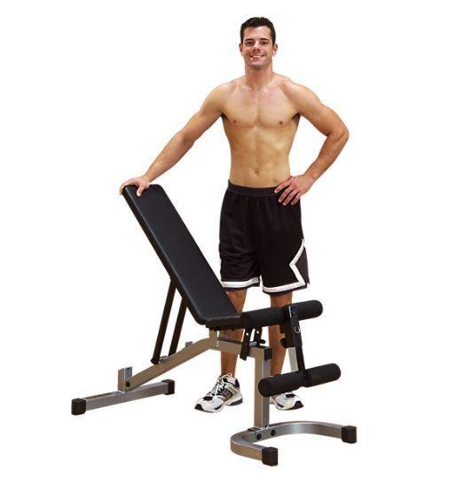 Powerline  PFID130X Flat Incline Decline Bench Home Gym Weight Fitness Equipment  big sale