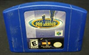 TONY HAWK'S PRO SKATER  - *Authentic* Nintendo 64 N64 Game Working / Tested