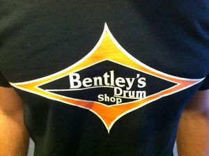 Bentley's Drum Shop T-shirt Tee-afficher Le Titre D'origine U9owwjff-07180640-394505537