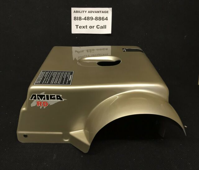 AMIGO MOBILITY RD, OLD STYLE, Scooter Rear Cover (shroud) Champagne color - NEW