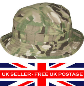 MTP-Multicam-Special-Forces-Short-Brim-Boonie-Bush-Hat-Army-Military-Airsoft-UK