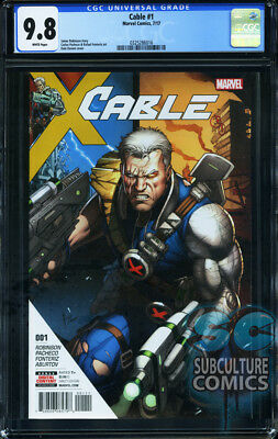 CGC 9.8 CABLE #1 FIRST ISSUE FIRST PRINT SOLD OUT