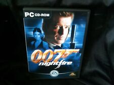 James Bond 007: Nightfire, PC Game, 2 Disc, Trusted Ebay Shop, Complete