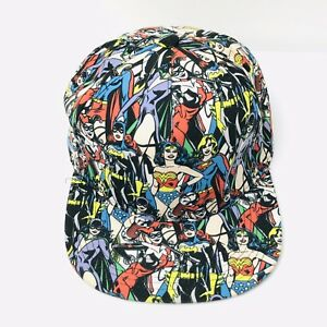 DC-Comics-Female-Superheroes-Snapback-Baseball-Cap-Bat-girl-Wonder-Woman