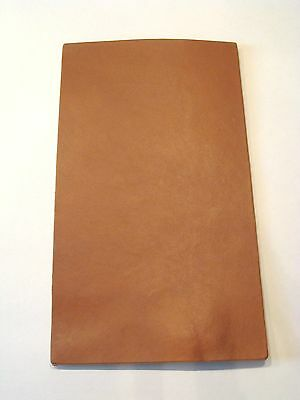 Texas Brown Veg Tanned Firm Cowhide 8-10 Tooling Leather Holsters Sheath Armor