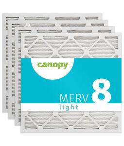 """14x14x1 Canopy Filters MERV 11 13 3//4/"""" x 13 3//4/"""" x 3//4/"""" Box of 6"""