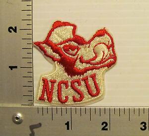 North Carolina State Wolfpack Framed Vintage Embroidered Patch