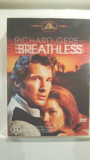 Breathless  DVD ] LIKE NEW, Region 4, FREE Next Day Post from NSW