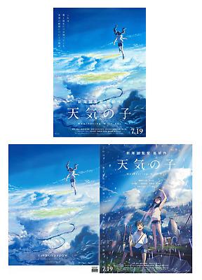 Weathering With You Tenki No Ko 2019 B5 Chirashi Movie Mini Poster Set Of 2 Ebay