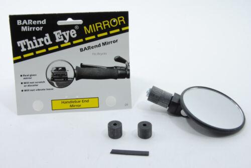 Third 3rd Eye Bar//Handlebar End Mirror