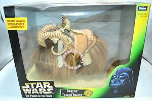 Star Wars Power of the Force - Bantha and Tusken Raider Figure, 1998 Kenner  NIB