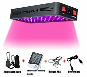 Image Is Loading Phlizon Newest 900W LED Indoor Plant Grow Light