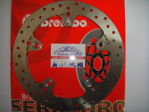 BREMBO 68B407C0 DISCO FRENO POSTERIORE SERIE ORO PER BMW K 1200 R 2005//08