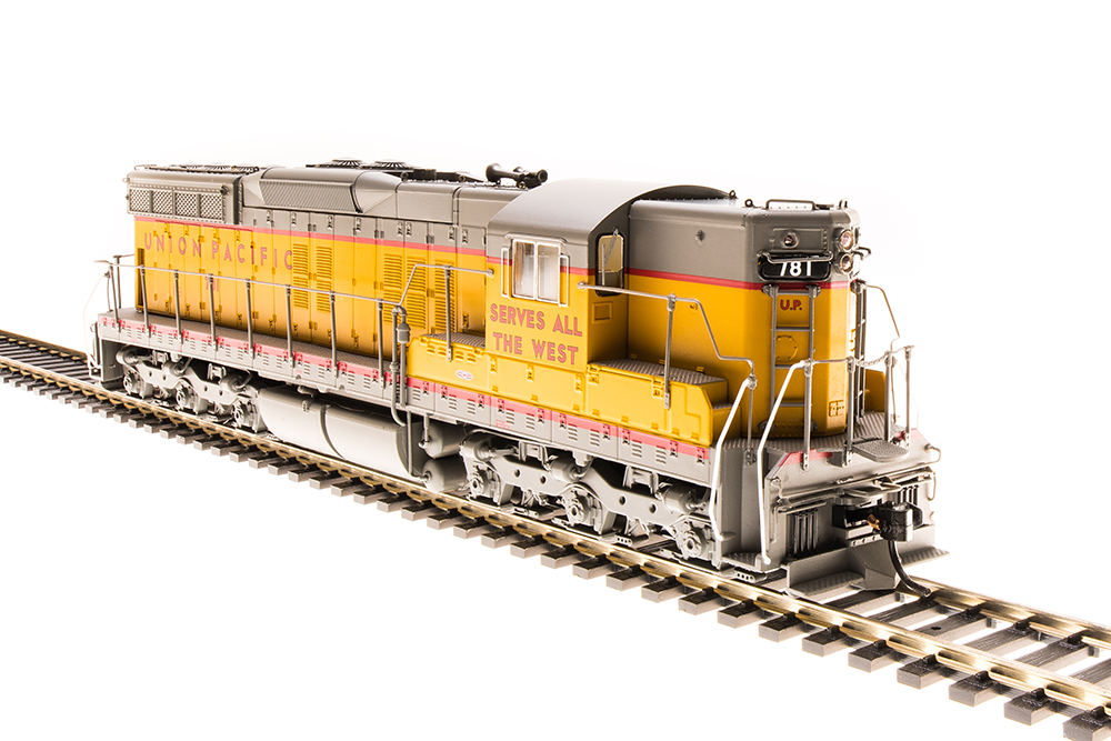Broadway Limited 4952 EMD SD7 UP  781,  Road of the Streamliners  Paragon3 Sound
